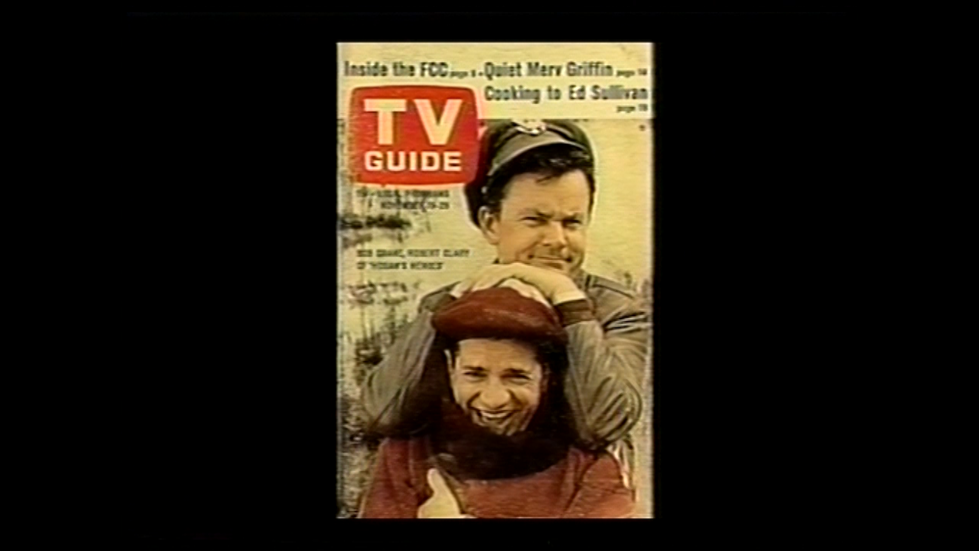 Bob Crane on the cover of TV Guide