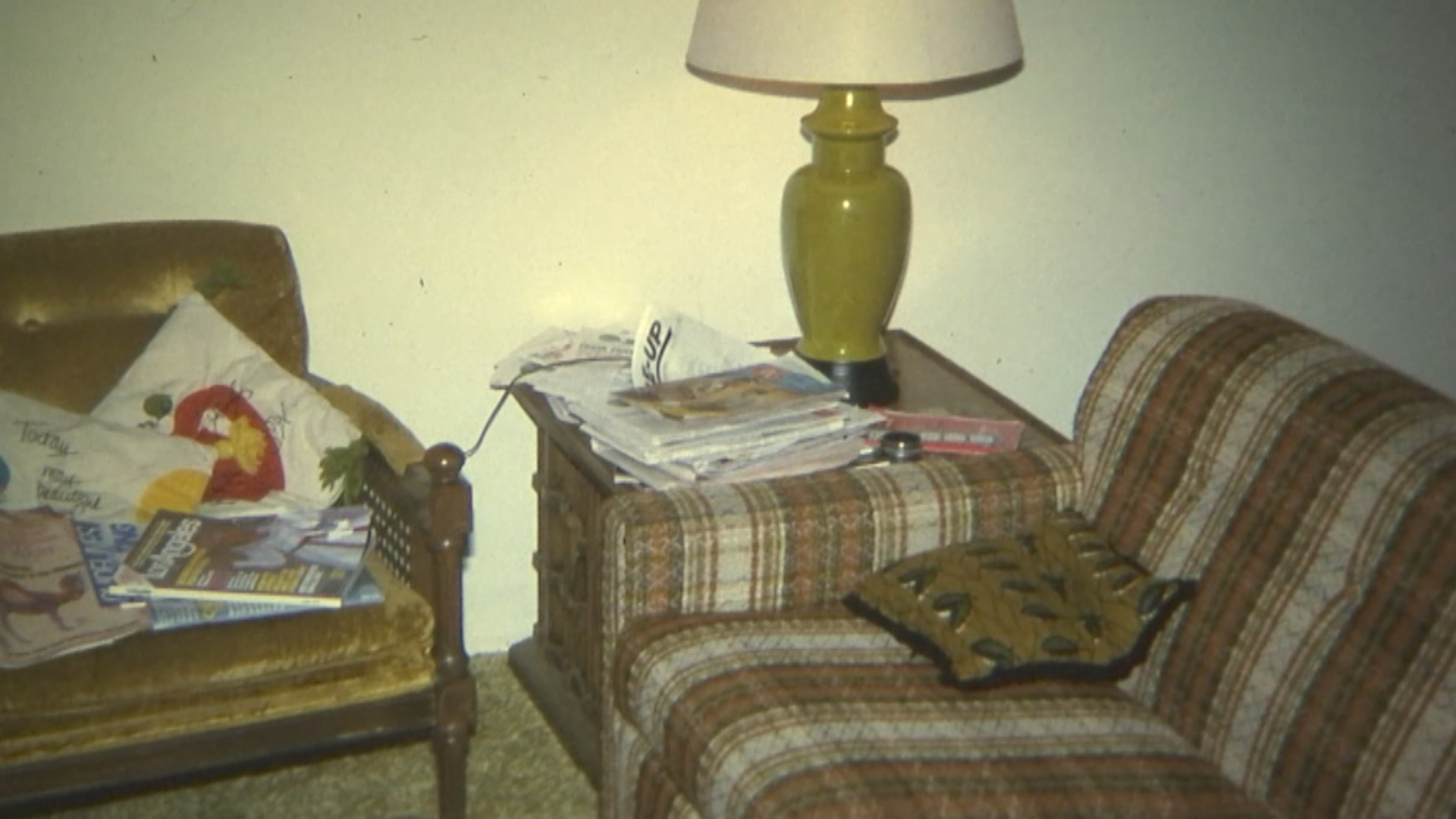 Bob Crane's living room at the time of his death.